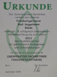 phoca thumb l Urkunde 2012 JPG 224x300 Auszeichnungen